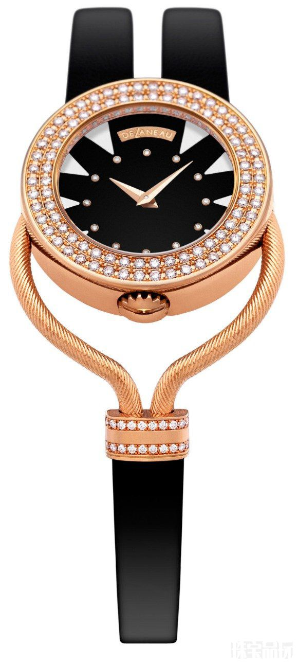 帝后DeLaneau女士珠宝腕表-珠宝首饰展示图【行业经典】