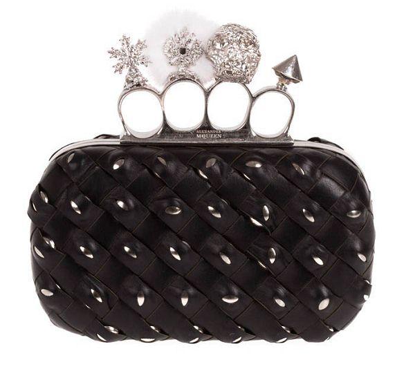 亚历山大•麦昆(Alexander McQueen) 2011年秋冬包款-时尚珠宝设计【行业顶级】