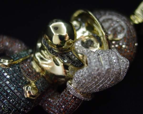 黄金钻石版Super Mario(超级马里奥)-创意珠宝