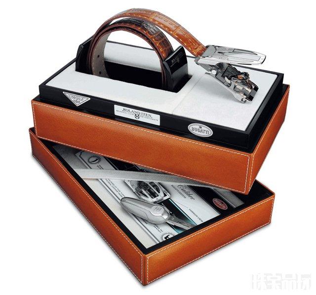 Roland Iten:布加迪BUGATTI专属皮带-珠宝首饰展示图【行业经典】