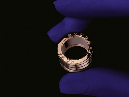 恒久传承 宝格丽(BVLGARI)全新B.zero1 Roma戒指