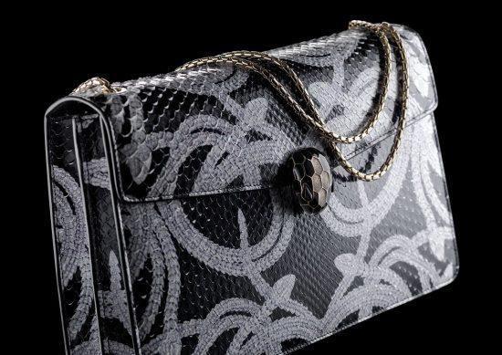 极致诱惑!宝格丽(BVLGARI)全新限量版Serpentissima珠宝手袋