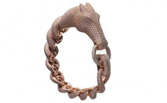 爱马仕(Hermès)Galop玫瑰金镶钻首饰系列-珠宝首饰展示【行业精选】
