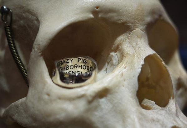 Skull Ring骷髅戒指-创意珠宝