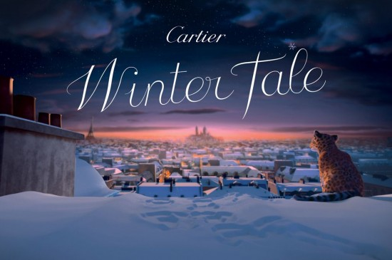 "Cartier 2013""Winter Tale""动画宣传片"