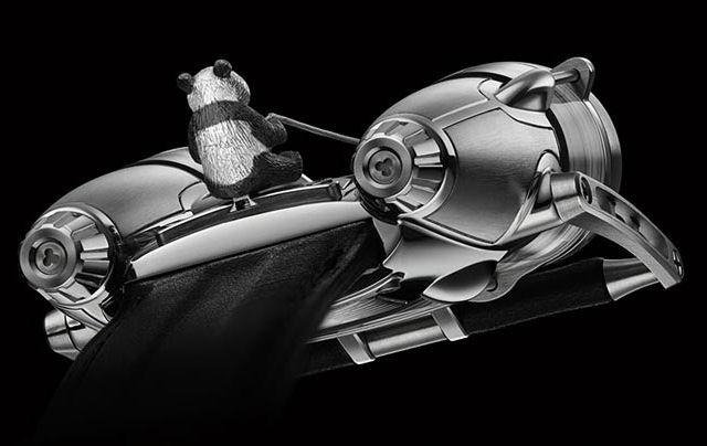 黄含康和MB&F合作表款HM4 Only Watch-珠宝首饰展示图【行业经典】