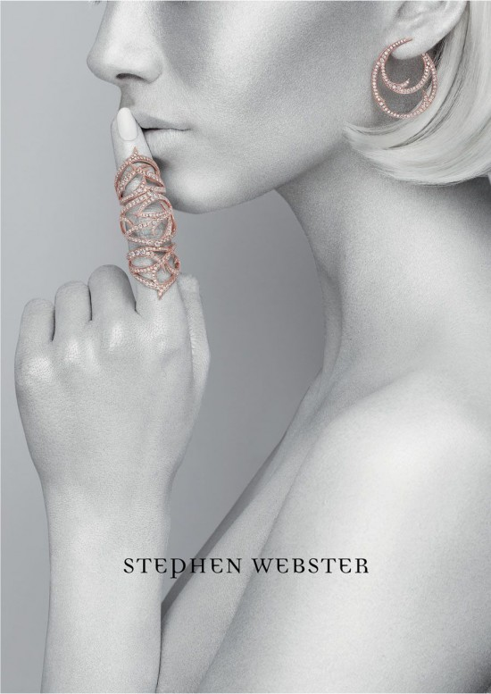 Stephen Webster 2013/14秋冬珠宝大片-珠宝首饰展示【行业精选】
