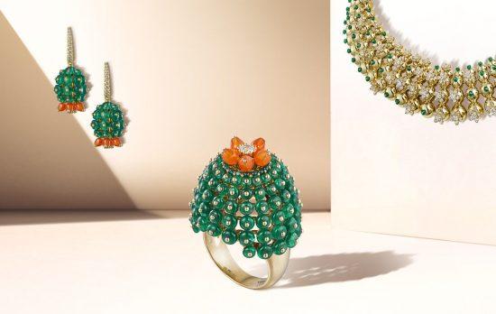 生命之花!卡地亚全新Cactus de Cartier珠宝系列-精美珠宝【秘密:适合高贵女人的珠宝】