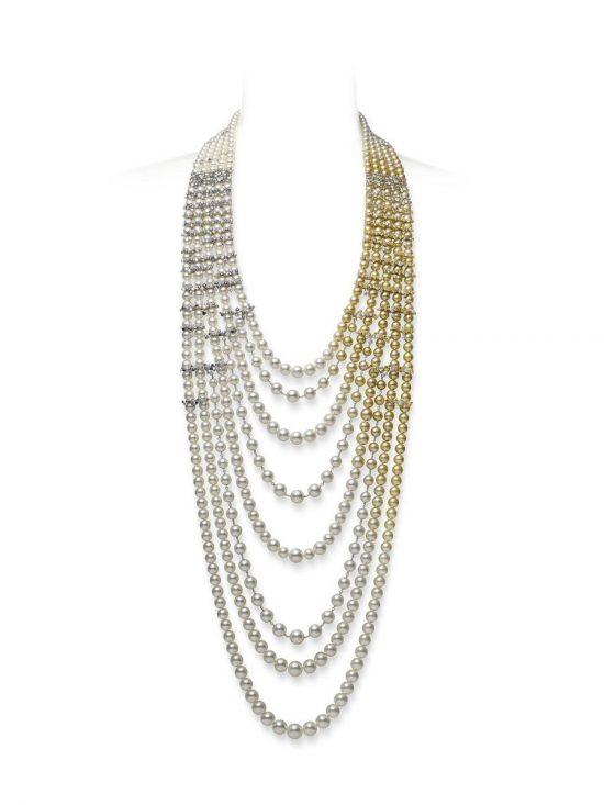 重现海洋美学 MIKIMOTO全新Praise to Nature顶级珠宝系列-精美珠宝【秘密:适合高贵女人的珠宝】