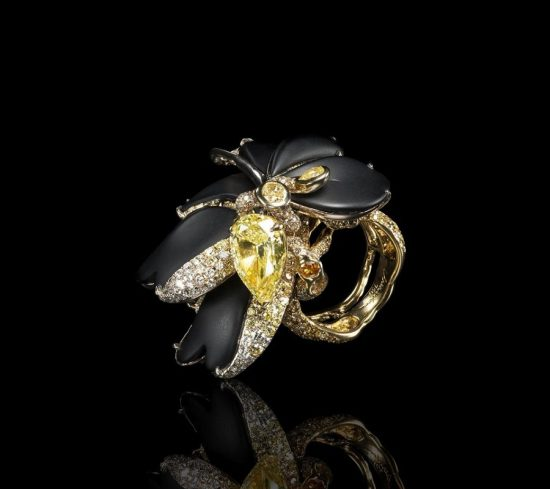 美到窒息!高级珠宝设计中的水墨意境-精美珠宝【秘密:适合高贵女人的珠宝】