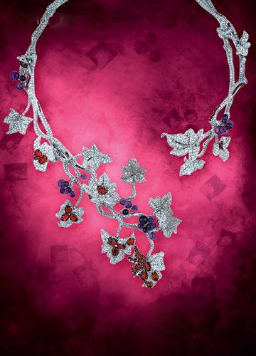 惊世璀璨的顶级珠宝项链-珠宝首饰展示图【行业经典】