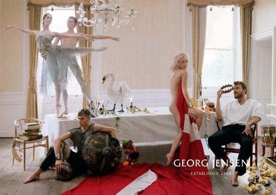 乔治杰生(Georg Jensen)2013全新系列广告-珠宝首饰展示【行业精选】