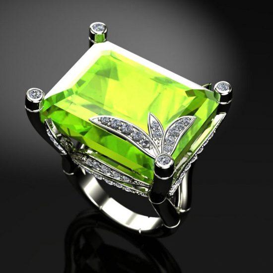 珠宝点亮夏日,总有那一抹清新-珠宝设计【哇!行业大师灵魂之作】