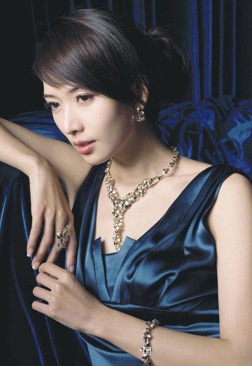 林志玲演绎珠宝大片-珠宝首饰展示图【行业经典】