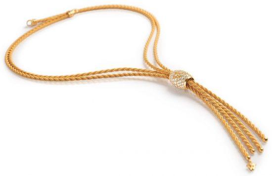 Wellendorff:黄金打造丝般柔软的项链