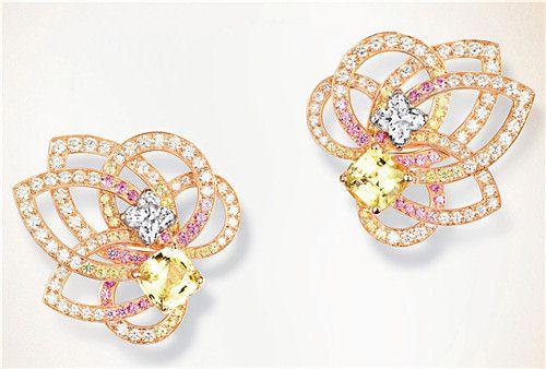 璀璨夺目的珠宝耳饰-珠宝首饰展示图【行业经典】
