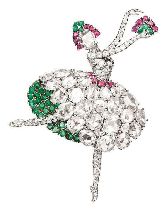 梵克雅宝的珠宝艺术:芭蕾舞伶与仙子