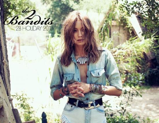 The 2 Bandits Holiday 2013打造波西米亚风格配饰-珠宝首饰展示【行业精选】