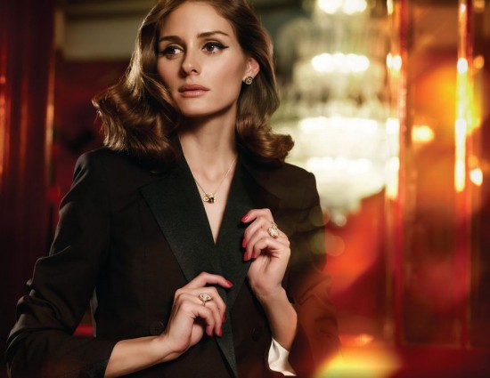 Olivia Palermo古典气质出镜Carrera y Carrera最新珠宝大片-珠宝首饰展示【行业精选】