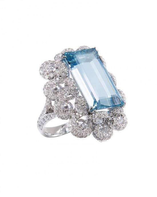珠宝设计师林晓同用珠宝作画 演绎海色生活