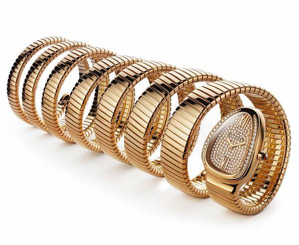 Bulgari 2011全新Serpenti腕表-珠宝首饰展示图【行业经典】