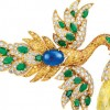 梵克雅宝的杰作:飞鸟胸针吊坠(BIRD CLIP & PENDANT)-精美珠宝【秘密:适合高贵女人的