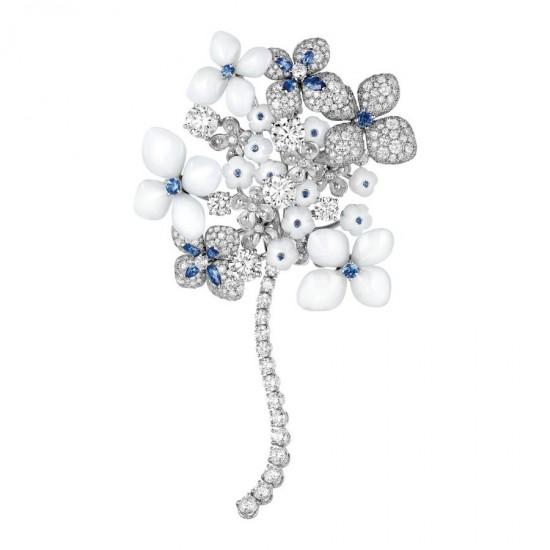璀灿盛放 Chaumet全新Hortensia绣球花珠宝系列-精美珠宝【秘密:适合高贵女人的珠宝】