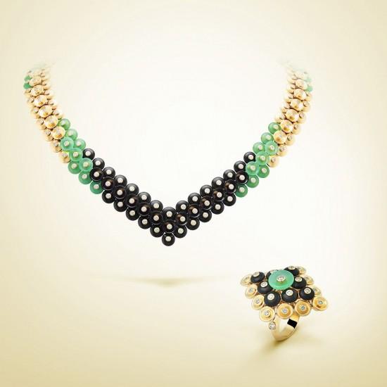 重绎美学概念 梵克雅宝Bouton d'or高级珠宝系列-精美珠宝【秘密:适合高贵女人的珠宝】