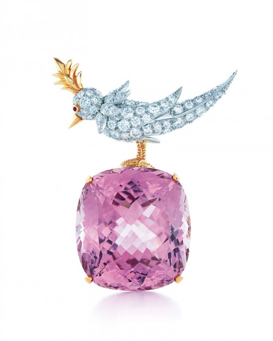 Tiffany石上鸟(Bird on a Rock)胸针的前世今生-珠宝设计【哇!行业大师灵魂之作】