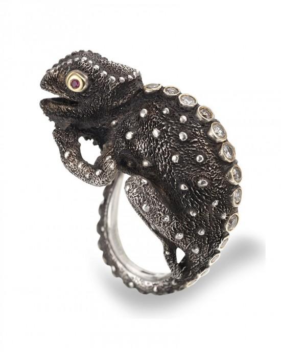 Manya & Roumen的动物珠宝世界