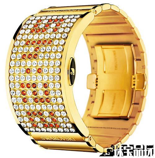 Swarovski LED 技术(D:Light) 腕表-珠宝首饰展示图【行业经典】