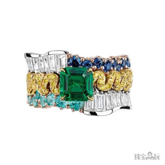 """回顾:2015年最出""""彩""""的高级珠宝-精美珠宝【秘密:适合高贵女人的珠宝】"""