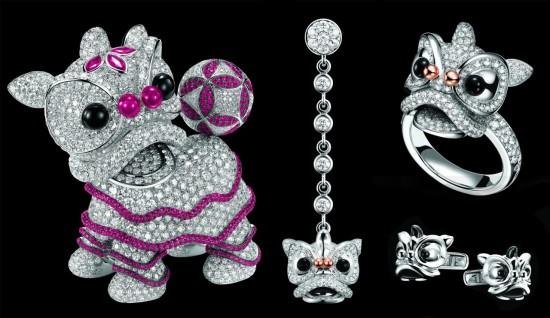 朝气满载 Qeelin XiXi(喜狮)高级珠宝系列