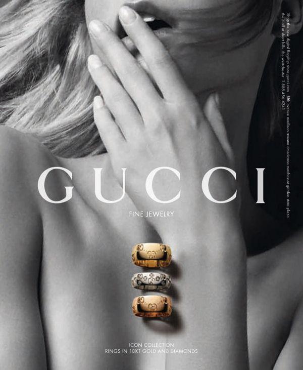 Gucci 2011年珠宝大片-珠宝首饰展示【行业精选】