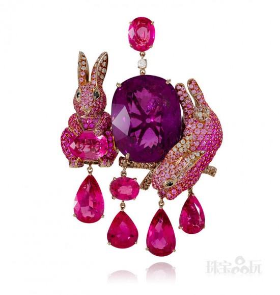 Lydia Courteille:复活节兔子珠宝-珠宝设计【哇!行业大师灵魂之作】
