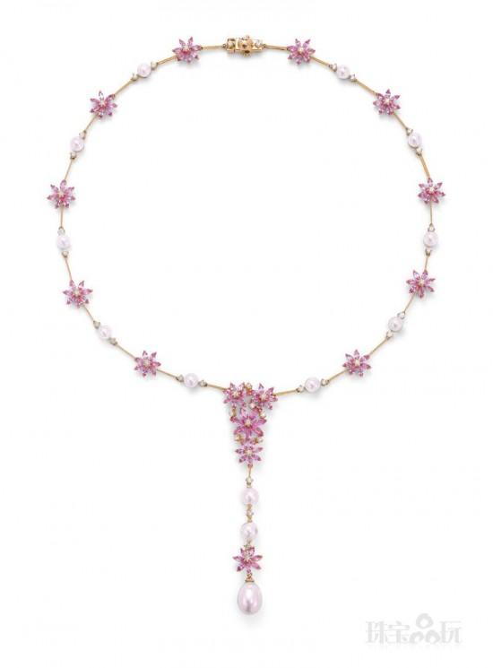 Ganjam珠宝:粉色花语-珠宝设计【哇!行业大师灵魂之作】