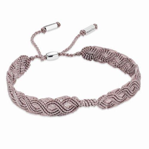 潘多拉(PANDORA)Macramé手工编织手链-珠宝首饰展示【行业精选】