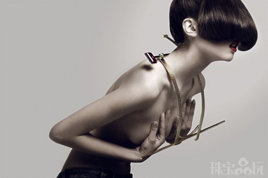 Octavia Yang :Joinery in Jewels榫卯结构首饰-珠宝设计【哇!行业大师灵魂之作】