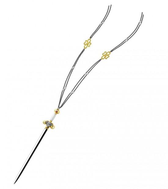 传承中国风 YEWN打造御宝剑系列珠宝-精美珠宝【秘密:适合高贵女人的珠宝】