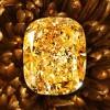 再添传世名钻 格拉夫(Graff)132.55克拉枕形浓彩黄钻