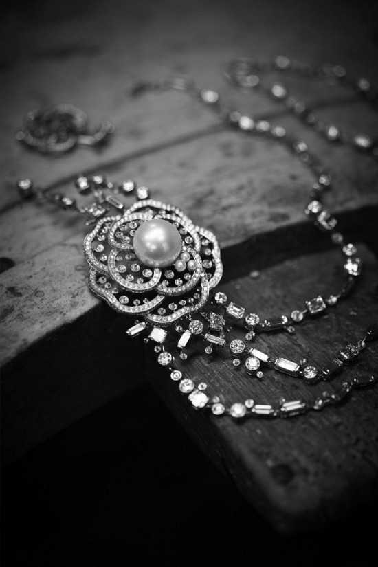 Les Perles de Chanel:珍珠之恋-精美珠宝【秘密:适合高贵女人的珠宝】