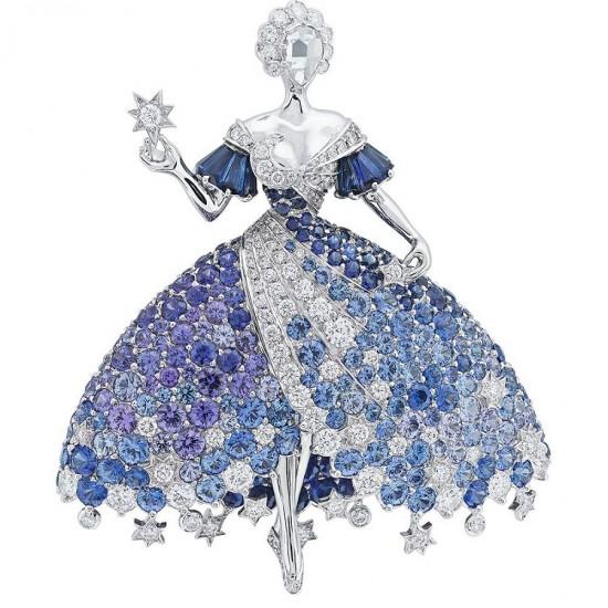梵克雅宝:Peau d'Ane(驴皮公主)-精美珠宝【秘密:适合高贵女人的珠宝】