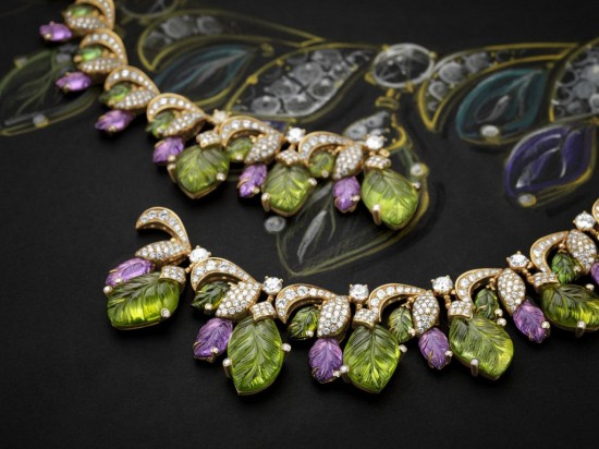 宝格丽(Bvlgari):四季礼赞-精美珠宝【秘密:适合高贵女人的珠宝】