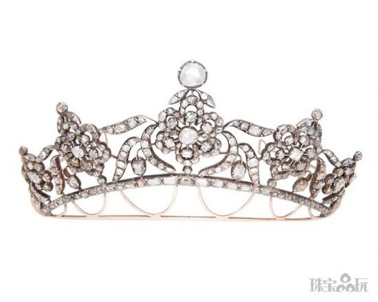 华贵优雅的新娘皇冠