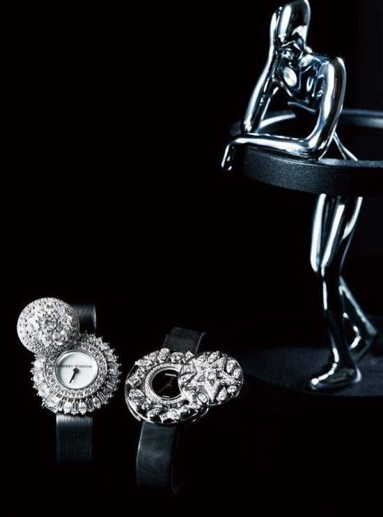 黑白分明的珠宝世界-珠宝首饰展示图【行业经典】
