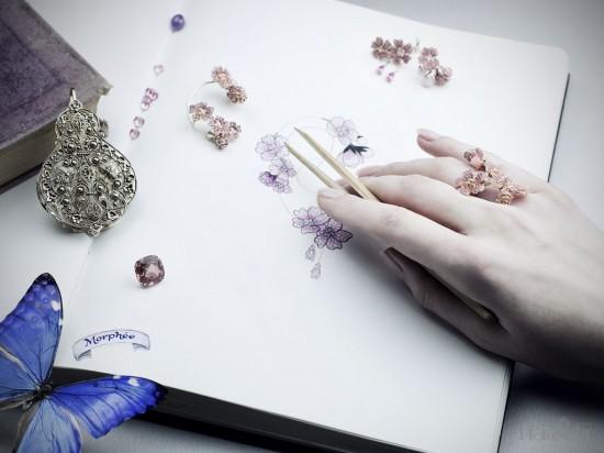 Morphée:春天里的珠宝