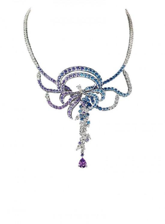 捕捉奇妙时刻 宝诗龙Inspiria高级珠宝项链系列