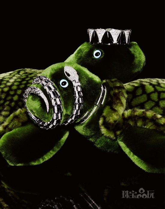 当你的毛绒玩具爱上珠宝后…-珠宝首饰展示图【行业经典】