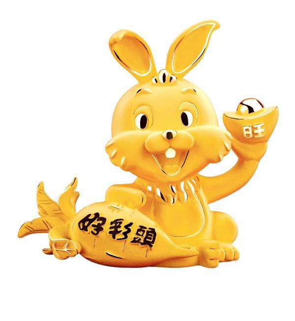 """六福珠宝2011新春呈献:""""纳福金兔""""系列-珠宝首饰展示【行业精选】"""