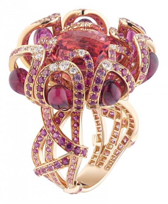 绽放优雅 尚美(Chaumet)全新Hortensia高级珠宝系列-精美珠宝【秘密:适合高贵女人的珠宝】
